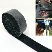NEW 1PCS Adhesive Magic Tape The Hooks Adhesive Nylon Sticker Hook and Loop Velcro Fastener Without Glue For Sew 1meter pair 20mm width colorful adhesive hook and loop fastener tape the hooks sewing on strips magic tape diy accessories