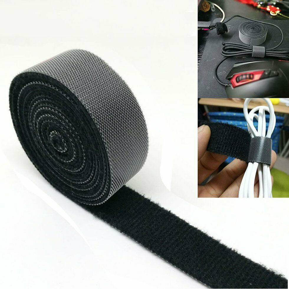 NEW 1PCS Adhesive Magic Tape The Hooks Adhesive Nylon Sticker Hook and Loop Velcro Fastener Without Glue For Sew