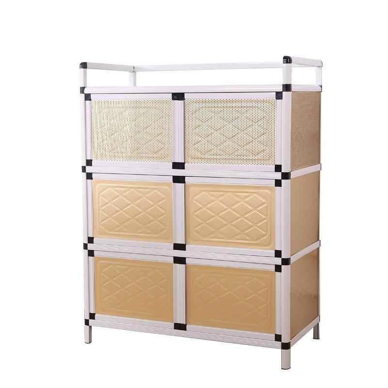 Sideboard Cubertero Para Cajones End Tables Aluminum Alloy Kitchen  Furniture Cabinet Meuble Buffet Mueble Cocina Cupboard