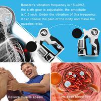 Перкуссионный массажер беспроводные мышцы глубокий устройство для релаксации фасции физиотерапия Вибрационный боли Professional массажный пис