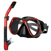 Professional Diving Masks Goggles Anti Fog Full Dry Silicone Snorkel Tube Set Men Women Diving Swimming Water Sports Equipment