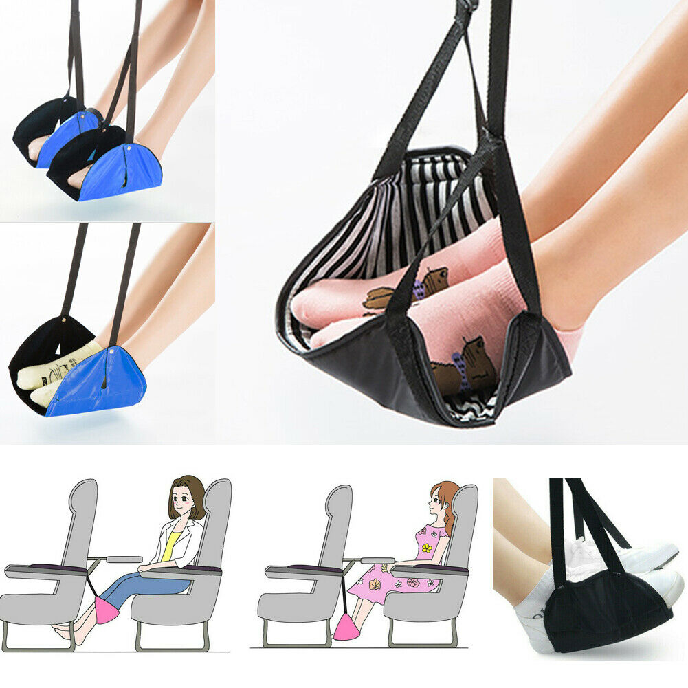 Home Storage & Organization Home & Garden Generous Foot Rest Portable Travel Footrest Hammock Carry Flight Leg Pillow Pad Airplane Relax Equipment Multi-purpose Hooks As Effectively As A Fairy Does