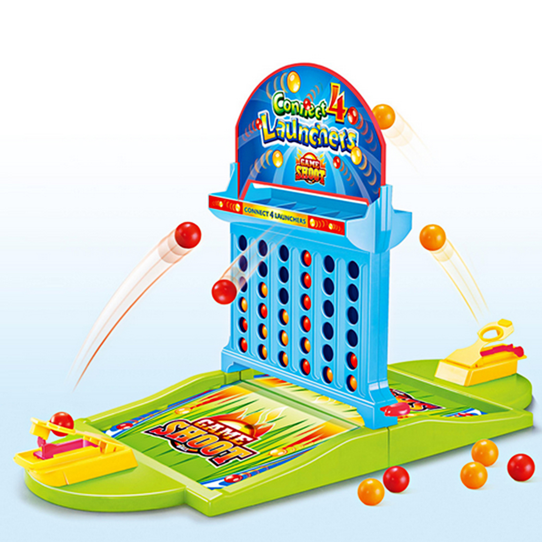 Double Connect 4 Hoodle Finger Basketball Shooting Game Educational Toys For Children Board Game