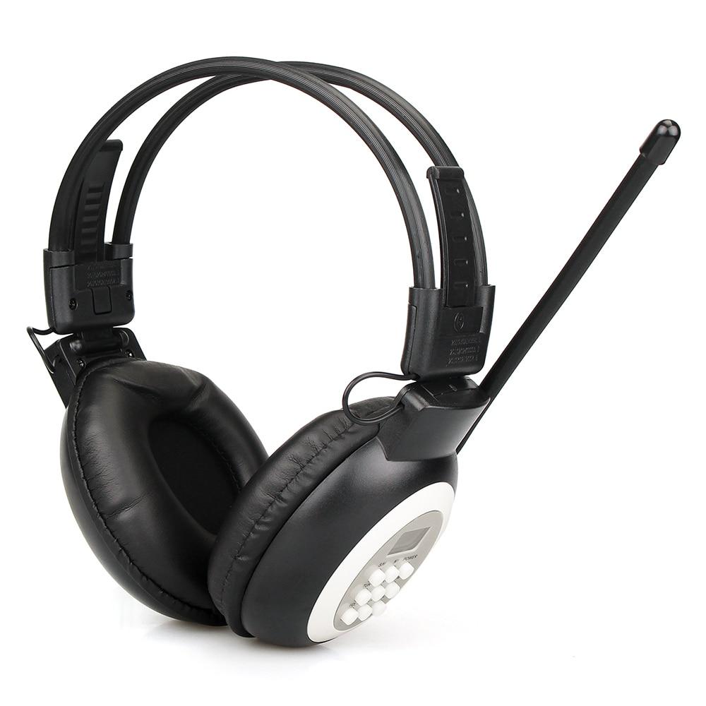 Tragbares Audio & Video Unterhaltungselektronik Retekess Tr101 Fm Kopfhörer Radio Empfänger Tragbare Über Ohr Drahtlose Headset Radio Kopfhörer Empfänger Für Konferenz Prüfung Nachfrage üBer Dem Angebot