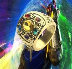 Мстители Бесконечная война танос Бесконечность Gauntlet Мощность Косплэй сплава кольца ювелирные изделия Косплэй аксессуар сборные кольца