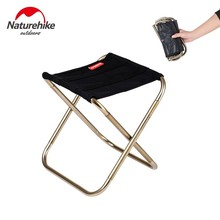 Naturehike Chair Stool Folding Chair Outdoor Aluminium Alloy Fishing Chair Portable Hiking outdoor backrest Ultralight Barbecue