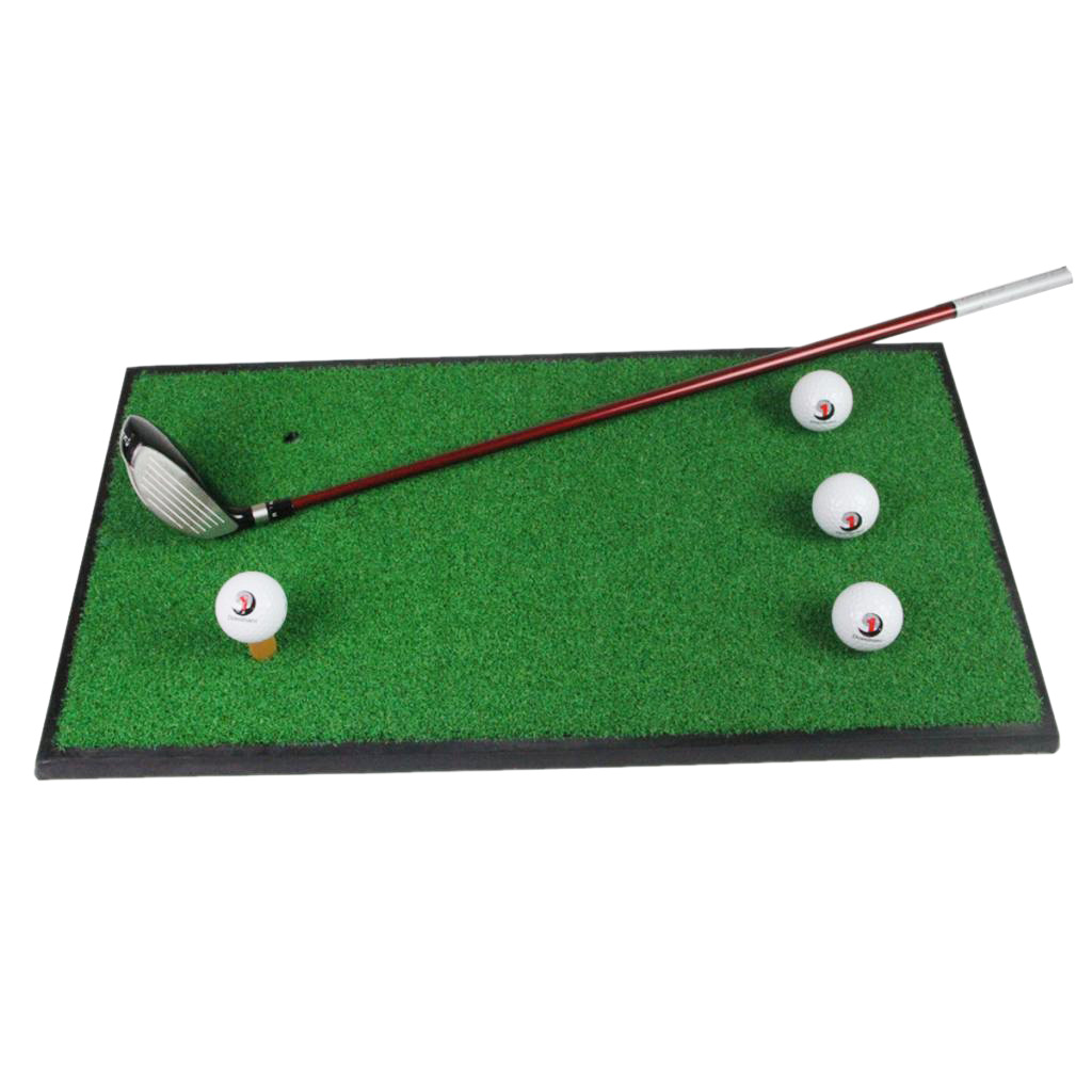 Golf Hitting Mat Portable Driving Range Chipping  Training Fairway Grass Green Pad for Backyard Indoor Outdoor Golfing Practice
