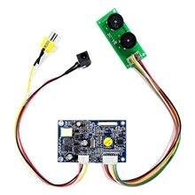 Pour 7 pouces écran LCD CVBS entrée contrôleur carte pour 26Pin TTL interface LCD écran HSD070I651 AT070TN07 480x234 résolution