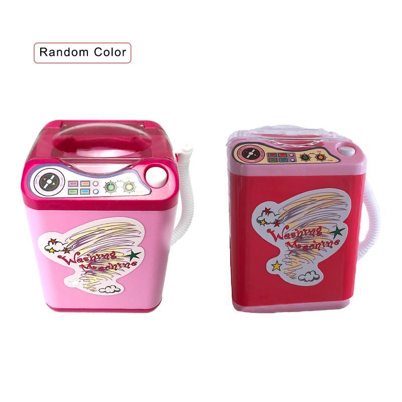 1 Pc Kunststoff Mini Waschmaschine Electricpretend Spielzeug Puppenhaus Möbel Spielzeug Für Mädchen Puppen Mädchen Beste Geschenke Für Mädchen Möbel Schrumpffrei
