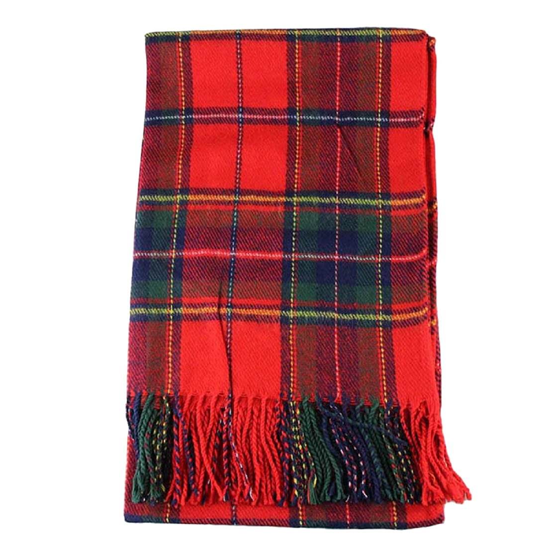 Women Winter Infinity Blanket Oversized Shawl Plaid Check Tartan   Scarf     Wrap
