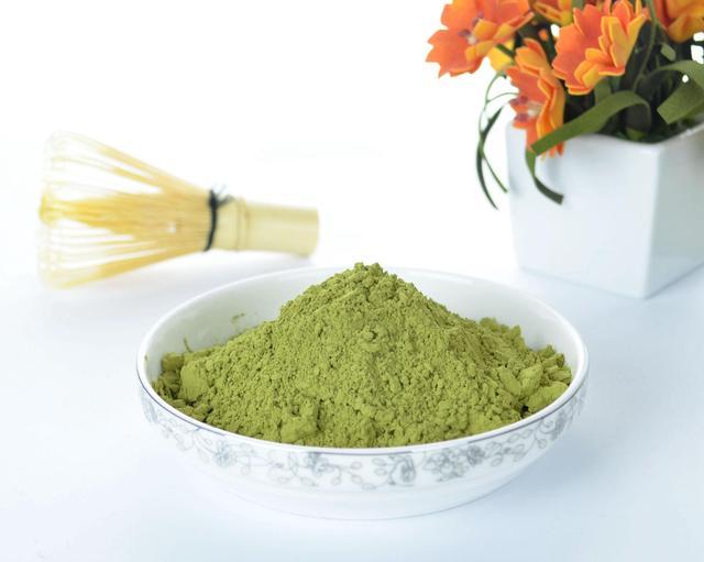 Lot of Pure Organic Matcha Green Tea Weight loss Powder+1*Bamboo Chasen Whisk 78