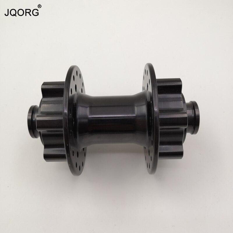 Axle Diameter 15 mm Dropout Wide 100 mm 32 36 Holes Black Color Double Disk Brake