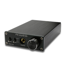 Top Nfj&Fxaudio Fx-Audio Dac-X6 Mini Hifi 2.0 Digital Audio Decoder Dac Input Usb/Coaxial/Optical Output Rca/ Amplifier 24Bit цены онлайн