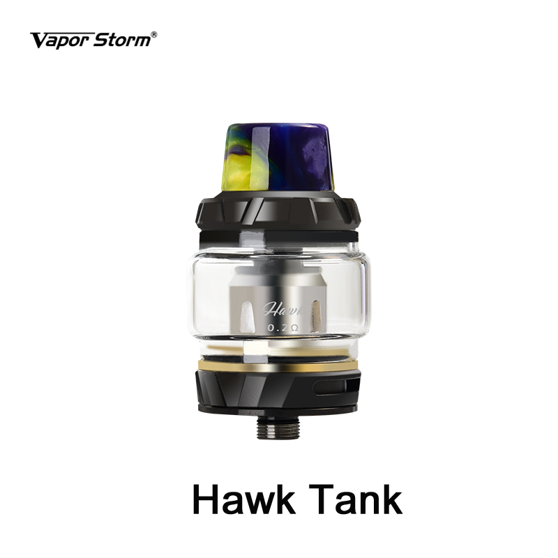 Vapor Storm Puma Baby 80w Box Mod Hawk Electronic Cigarette Vape Kit OLED Screen Graffiti Without 18650 Battery 2ml Subohm Tank