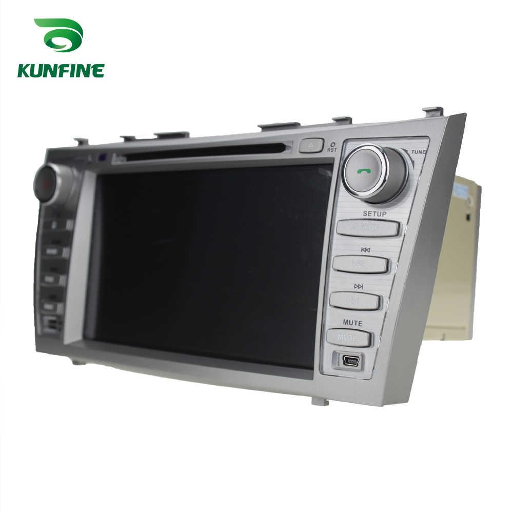 الروبوت 9.0 الأساسية PX6 A72 Ram 4G Rom 64G مشغل أسطوانات للسيارة GPS مشغل وسائط متعددة سيارة ستيريو لتويوتا كامري 2007 -2010 راديو و headunit
