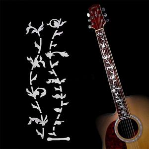 Electric Acoustic Guitar Stickers Inlay Decal Ultra Thin Fretboard Guitarra Sticker Guitar Part Strings Instrument Accessories(China)