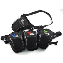 Мотоциклетная Повседневная поясная сумка ножная упаковка черная модная водонепроницаемая ткань Оксфорд износостойкая прочная Высокая емкость практичная