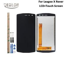 Ocolor עבור Leagoo X רובר LCD תצוגת מסך מגע 5.72 נבדק לפני המשלוח עבור Leagoo X רובר טלפון אביזרי + כלים