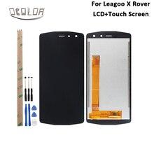 Ocolor Leagoo X Rover lcd ekran Ve Dokunmatik Ekran 5.72 Için Sevkiyat Öncesi Test Leagoo X Rover Telefonu Aksesuarları + araçları