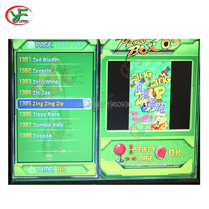 US $25 9 |1299 in 1 Arcade Game Board CGA/VGA /HDMI Fo LCD& CRT Jamma MAME  Mutli Game Board Arcade cartridge BOX 5S PCB BOARD-in Coin Operated Games