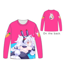 Hot Anime  Azur Lane Tops Unisex Cosplay dress Long sleeve T shirt Tees Costumes Game Characters The unicorn t