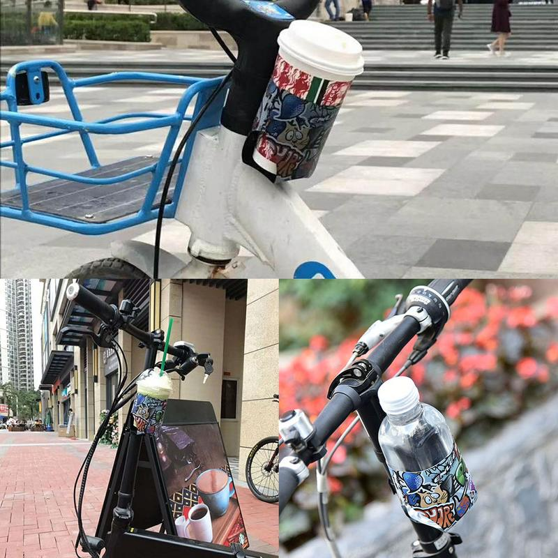 Portable Bike Drink Water Bottle Cage Holder Rack Stroller Cup Stand Support Kit