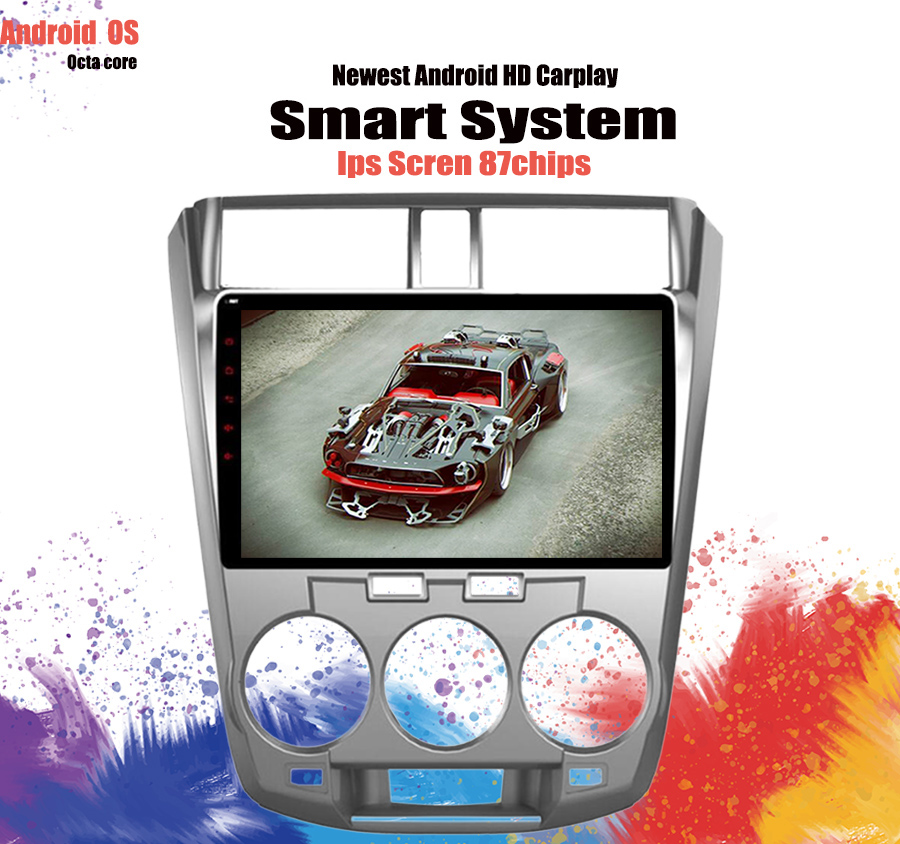 Toyota Dealer Quad Cities: 10.1 Inch Android 9.0 Car GPS Navigation For Honda City