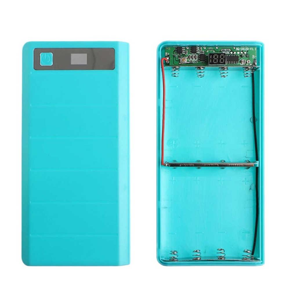 LED affichage numérique Mobile housse de batterie portative bricolage Kits 8*18650 batterie boîte 5 V 1A 2A charge Circuit imprimé chargeurs de téléphone portable