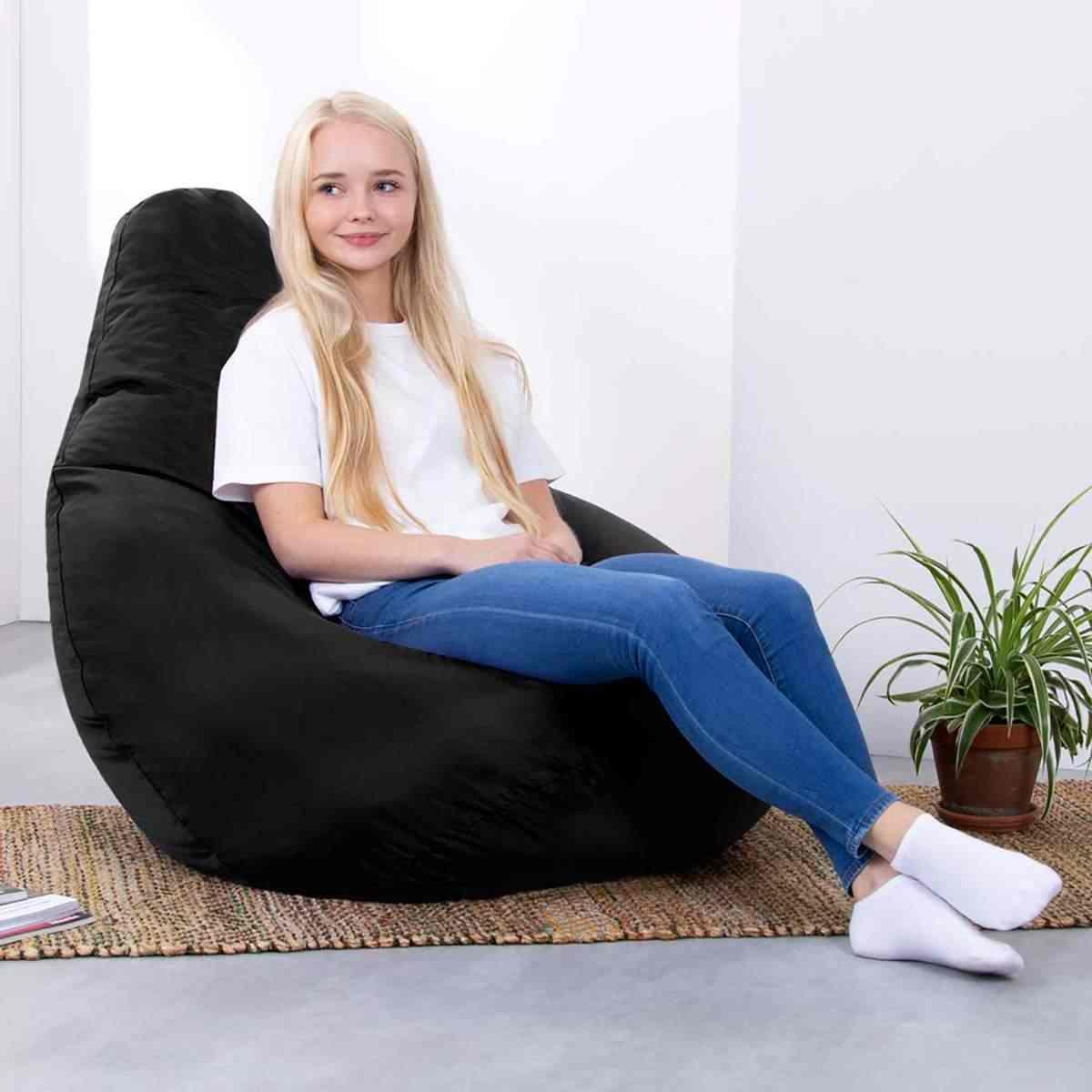 Grande Pequeno Preguiçoso BeanBag Sofás Cobrir Cadeiras sem Enchimento Oxford Pano Sopro Assento Do Saco De Feijão Pufe Espreguiçadeira Sofá Tatami Sala de Estar quarto