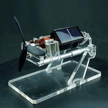 Solar Fan Magnetic Levitation Levitating Brushless Mendocino Motor w/ Propeller Education Model