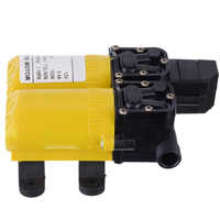 DC 12V 80W High Pressure Diaphragm Water Pump Electric Water Pump for Boat Caravan Marine Motor Water Pumps