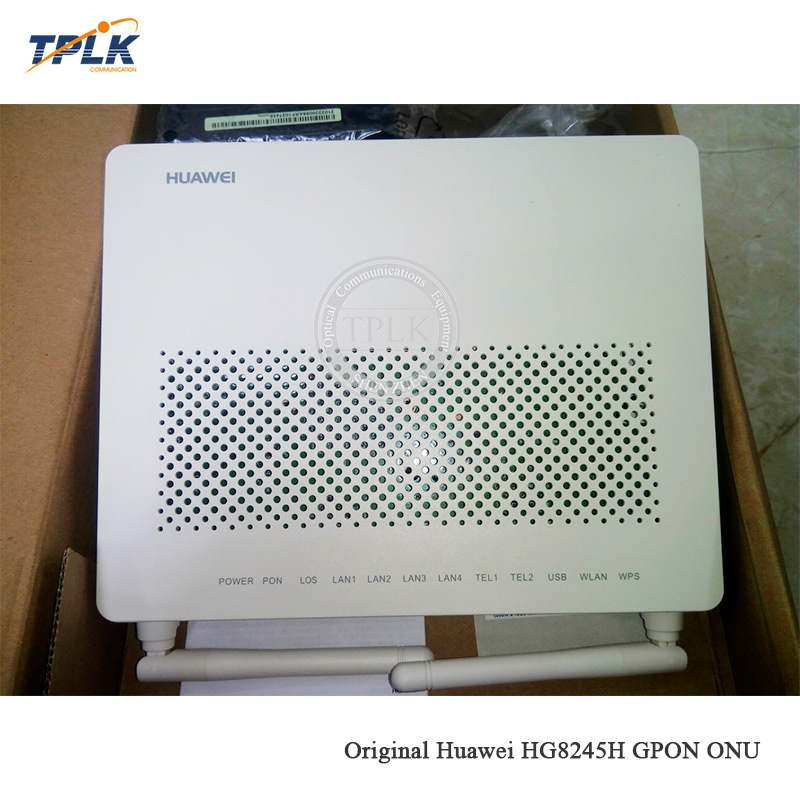 Hot selling Origianl Hua wei HG8245H 2PORT+4GE+VOICE+WiFi GPON ONU