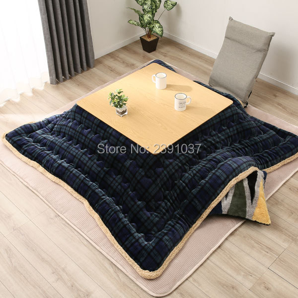 Free Shipping Luxury Kotatsu Futon Blanket Patchwork Style Cotton Soft Quilt Japanese Kotatsu Table Cover Comforter 190/240/270