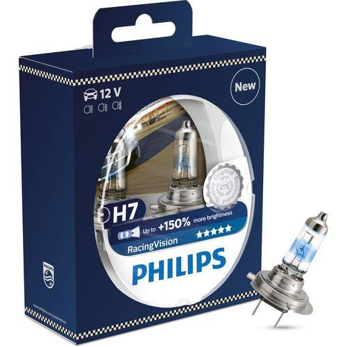 Lamp PHILIPS H7 12 V-55 W (PX26d) Vision (Premium) blister card (1 PCs) lamp car h7 12 v 55 w px26d megalight plus 50 blister card 2 pcs ge