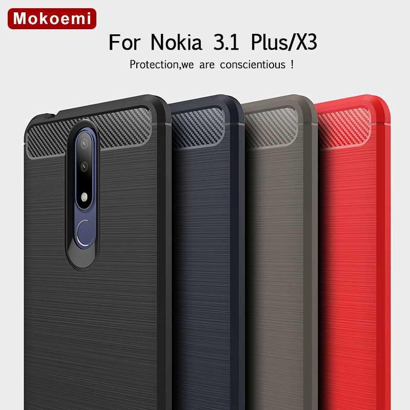 Handytaschen & -hüllen Fein Mokoemi Mode Shock Proof Silikon 6,0 für Nokia 3,1 Plus Fall Für Nokia X3 Handy Fall Abdeckung