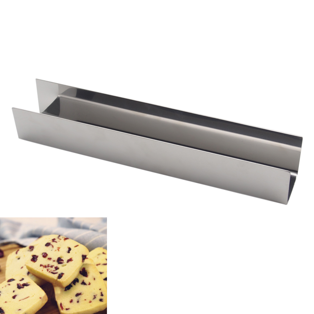 9 5 Inch Cranberry Pie Biscuits Cake Bread Mold Stainless Steel U Shape Non Stick Bakeware Baking Tool WXV Sale in Bakeware Sets from Home Garden