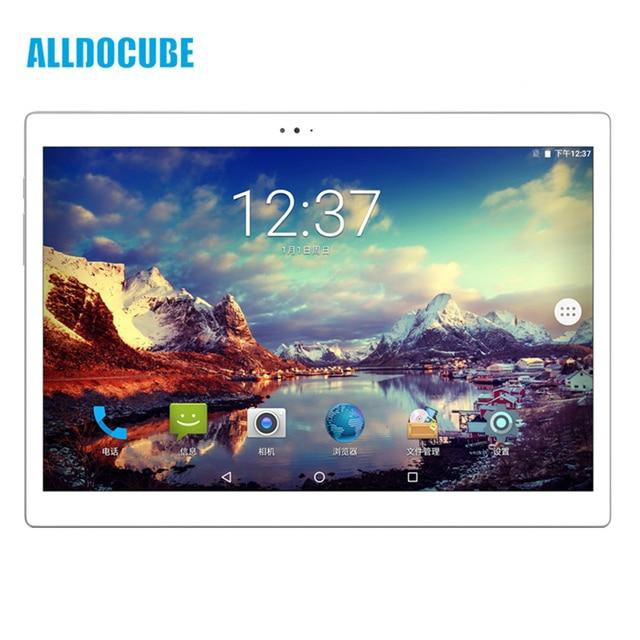 Original Box ALLDOCUBE X 4GB RAM 64GB ROM  MT8176 Hexa Core 10.5 Inch Screen -Android 8.1 System Fingerprint Tablet