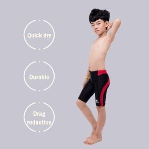 Image 4 - HXBY Boys Swimsuit Swimming Trunks Professional Training Swimsuit Boys Kids Racing Children Boy Swimwear Shorts Mens Swim Trunks