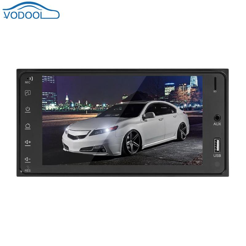 7 Inch 2DIN 1024 600 Touch Screen Car Stereo MP5 Player FM Radio AUX USB BT