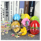 Dinosaur Eggs 3D Puzzles Jurassic World Wooden Toys Dinosaur Wooden Puzzle Education Toys Children Kids Puzzles Baby Gift