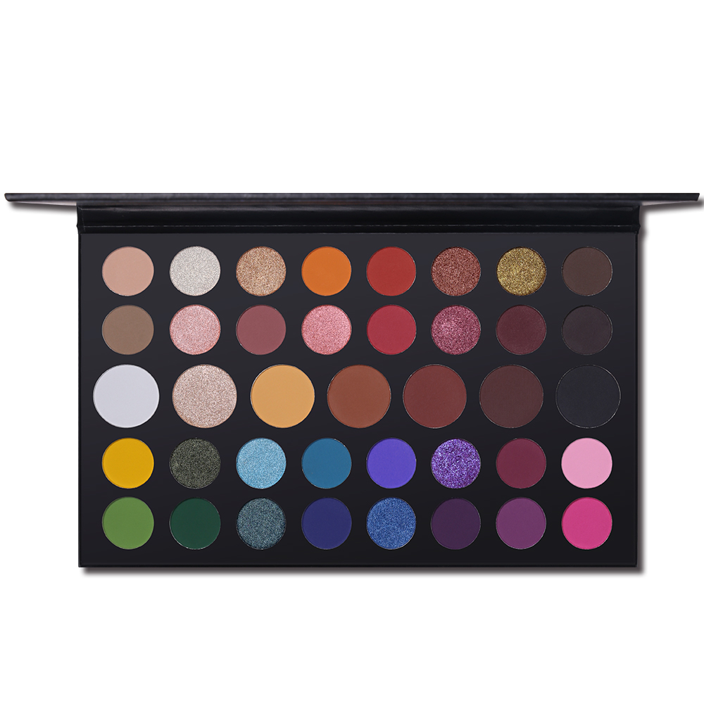 Beauty Essentials Independent Wodwod 8 Earth Colors Eye Shadow Smooth Makeup Palette Nude Smoky Glitter Matte Eyeshadow Make Up Set Cosmetics With Brushes Beauty & Health