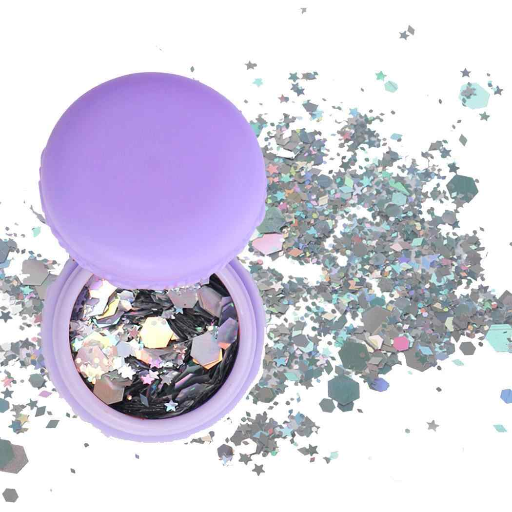 Party Body etc Face Cosplay Cosmetics Nail Home Hair Party Macaron Sequins Beauty Makeup Powder Glitter Wedding Club