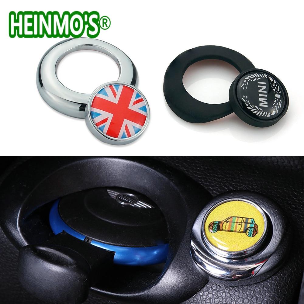 For MINI Cooper One Countryman Paceman Car Interior Accessories R55 R56 R57 R58 R59 R61 R60 Start Stop Button Cap Cover Sticker