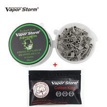 Vapor Storm A1 E Cigarette Prebuilt Vape Coil 50pcs Organic Cotton 10 Strips Alien Clapton Coil.jpg 220x220 - Vapes, mods and electronic cigaretes