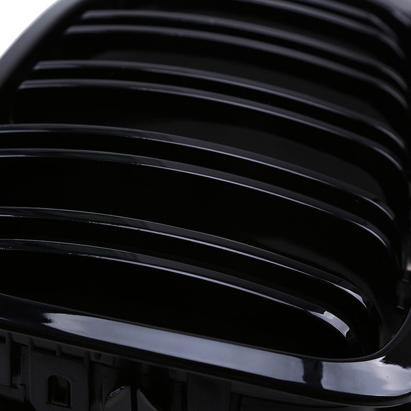 Pour 98-01 BMW E46 Performance noir brillant rein Euro Sport grille avant - 5