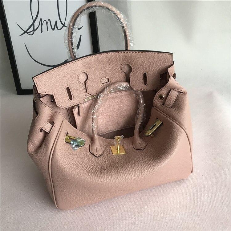 Fashion Genuine Leather Women Shoulder Bag Bolsa Feminina Designer Handbags Crossbody Bags for Ladies Naked PinkFashion Genuine Leather Women Shoulder Bag Bolsa Feminina Designer Handbags Crossbody Bags for Ladies Naked Pink