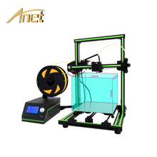 New Design AnetE10 Semi Assemble 3D Printer with Large Printing Size 220 x 270 x 300mm Desktop DIY Alumium Frame 3D Printer Kit