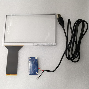 Image 2 - Capacitive touch screen 7 inch 10 point USB universal interface support Android linux WIN7810 plug and play