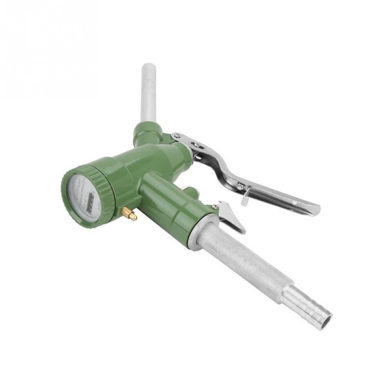 Fueling Nozzle Fuel Oil Diesel Kerosene Gasoline Nozzle Gun Fueling Nozzle with Flow Meter Refueling gun