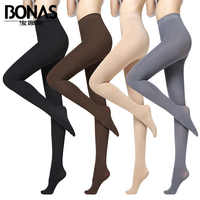 Mulher 280d super elástico veludo primavera outono calças de cintura alta mulheres emagrecimento meia-calça